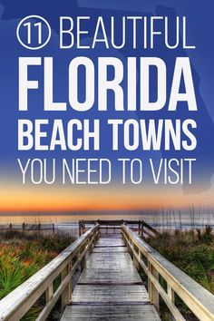 11 Beautiful Florida Beach Towns You Need To Visit Theres a beach for everyone on this list, including beautiful Siesta Key and historical St. Florida Keys, Visit Florida, Florida Vacation, Florida Travel, Florida Beaches, Travel Usa, Florida Trips, Siesta Key Florida, Travel Tips