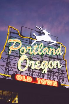 San Francisco to Portland Road Trip road trip makes stops at San Francisco, Lombard Street, Hotel del Sol and others. Plan your road trip with Roadtrippers. State Of Oregon, Oregon Usa, Oregon Coast, Oregon City, Portland City, Portland Oregon, Travel Portland, Portland Coffee, Oregon Travel