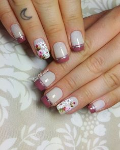 Best Nail Art Designs 2018 Every Girls Will Love These trendy Nails ideas would gain you amazing compliments. Check out our gallery for more ideas these are trendy this year. Best Nail Art Designs, Beautiful Nail Designs, Nail Technician, Flower Nails, Cool Nail Art, Trendy Nails, Manicure And Pedicure, Nail Artist, Fun Nails