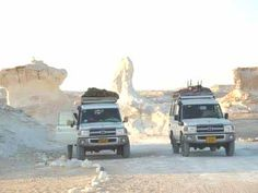 White Desert / http://www.shaspo.com/egypt-desert-safari-tours-travel-packages / If you are willing to spend a different kind of excursion, you can get that with Egypt Desert Safari Packages.