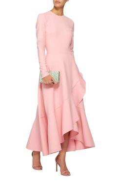 Get inspired and discover Oscar de la Renta trunkshow! Shop the latest Oscar de la Renta collection at Moda Operandi. Day Dresses, Evening Dresses, Short Dresses, Pink Dresses, Prom Dress Shopping, Online Dress Shopping, Modest Fashion, Fashion Dresses, Look Chic