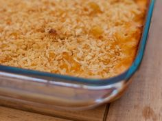 OKLAHOMA: Oven mac and cheese