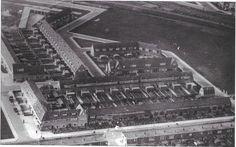 Vogelwijk met Ruijghweg hoek Reigerstraat, rechtsboven Meeuwenveldje. Jaren '30.