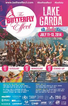 Lake Garda Events - The Butterly Effect-torbole - Wind Surf - Kite Surf - Stand Up Paddle