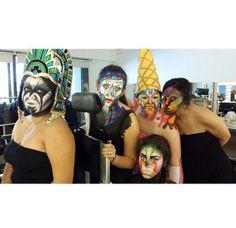 #Maquillaje de fantasía en la escuela ¡Colors-Up! — con Gabriela Vargas Sanchez.