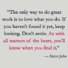 Don't. Settle. For anything.