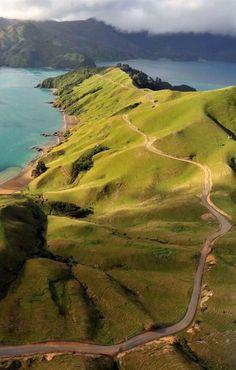 Travel Inspiration for New Zealand - Marlborough Sounds, South Island, New Zealand Wonderful Places, Beautiful Places, Amazing Things, Places To Travel, Places To See, Places Around The World, Around The Worlds, Romantic Honeymoon Destinations, New Zealand Travel