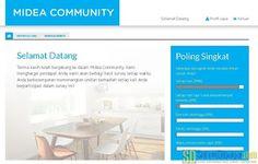 Dasbor akun Midea Community | SurveiDibayar.com