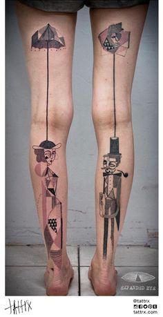 Puppets tattoo