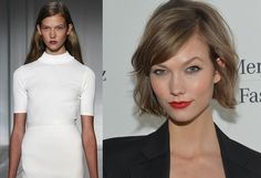 She's always been The Girl Next Door, but when a 20-year-old Kloss chopped her long brown hair in 2012, she suddenly became a cool young woman instead. The fashion world took notice—and so did Taylor Swift, who still sports a similar 'do today.   - ELLE.com