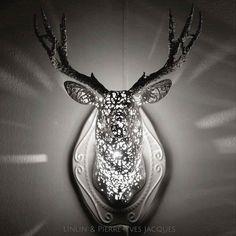 Animal Lace – Des superbes luminaires imprimés en 3D (image)