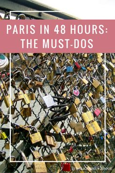 Paris in 48 Hours - Pin now, read later!