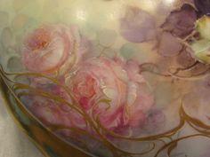 Truly Magnificent Porcelain Art Treasure ~ Gorgeous Creme De La Creme from oldbeginningsantiques on Ruby Lane