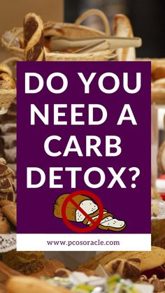 Do you need a carb detox? I recently came across an article suggesting you need to go on a carb detox to lose weight and treat insulin resistance. In this video, I will be unpacking the article and explaining whether a carb detox is necessary. Nutrition Tips, Diet Tips, Carb Detox, Detox To Lose Weight, Polycystic Ovarian Syndrome, Pcos Diet, Insulin Resistance, Do You Need, Treats