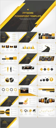 It is a presentation template that features a luxury design that makes it perfect for promoting a high-end product or a luxury business. Powerpoint Poster Template, Simple Powerpoint Templates, Professional Powerpoint Templates, Creative Powerpoint, Ppt Template, Project Presentation, Business Powerpoint Presentation, Presentation Layout, Architectural Presentation