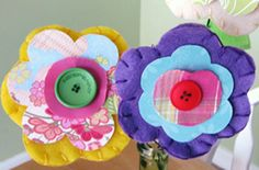 Spring Flower Craft - We are getting ready for our Workshops with the kids in April!!!