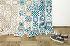 tile patchwork quilt design