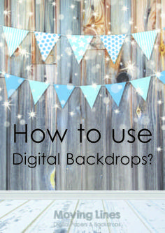 Digital backdrops by Moving Lines on Etsy