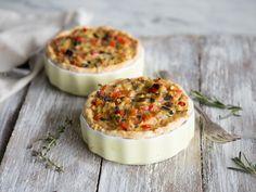 Buntes Gemüse trifft auf Mürbeteig: Ratatouille-Tartes