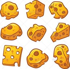 Buy Swiss Cheese by memoangeles on GraphicRiver. Vector clip art illustration with simple gradients. Each on a separate layer. Cheese Art, Swiss Cheese, Cheese Cartoon, Cheese Drawing, Graphic Prints, Graphic Design, Cartoon Drawings, Vector Design, Food Art