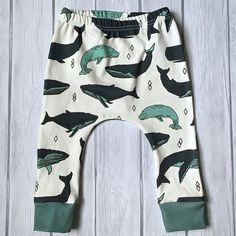 Whale Pod Organic Harem Pants In stock and ready to ship in 1-3 business days!  Our organic harem pants are handmade using 100% certified organic