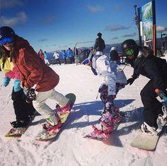 Burton Girls Australia - Sun, snow and friends make a great day.