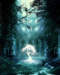 where pact was wrought, and gain was sought, fought all but three and soon came to naught, under the dreaming tree