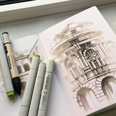 The wonders of the copic marker, you can create amazing artwork with them.