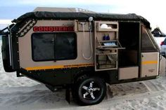 20 Best Tear Drop Trailer Tutorials And Ideas Tiny Camper, Cool Campers, Rv Campers, Camper Trailers, Travel Trailers, Small Trailer, Bug Out Trailer, Off Road Trailer, Off Road Camping