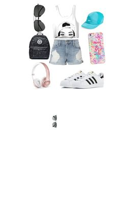 """""""Summer Bummer🌞"""" by oliviaetc ❤ liked on Polyvore featuring Frame, adidas, Ray-Ban, Yves Saint Laurent, NIKE, Casetify and Beats by Dr. Dre"""