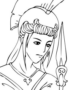 Greek Gods Kids Coloring Pages and Free Goddess Goddesses Colouring Pictures Greek Gods And Goddesses, Greek Mythology, Coloring Pages For Kids, Kids Coloring, Colouring, Athena Goddess, Godchild, Disney Characters, Fictional Characters