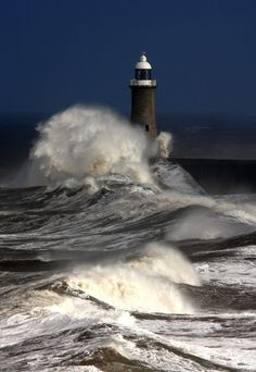 """wowtastic-nature: """" Tynemouth Pier by Gail Johnson on 500px.com (Original Size - Height: 3315px - Width: 2287px) """""""