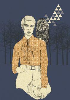 """Curioos.com   """"Dark night"""" by Magdalena Pankiewicz (Earth) - http://pinterest.com/curioos"""