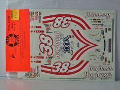 Model Car Kit  Decals SLIXX Monogram #38 BARBASOL (GLENN ALLEN'S 100TH START)