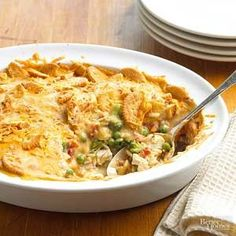 This one dish dinner recipe features a delicious mix of broccoli, chicken, green chiles, and rice./