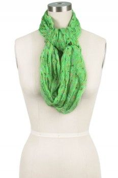 Way to tie an Infinity Scarf