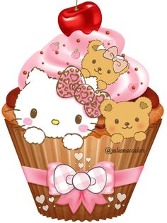 Hello Kitty Art, Hello Kitty Coloring, Hello Kitty Imagenes, Hello Kitty Cupcakes, Hello Kitty Pictures, Hello Kitty Collection, Hello Kitty Wallpaper, Happy Birthday Images, Sanrio Hello Kitty