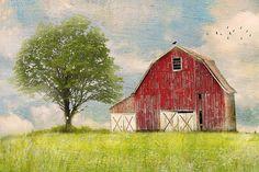 Minimalist Barn by Distressed Jewell, via Flickr