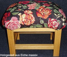 Sofa Hocker BRÂNWEN - ca. 35 cm Höhe - Couch Hocker - Sofahocker - Couchhocker…