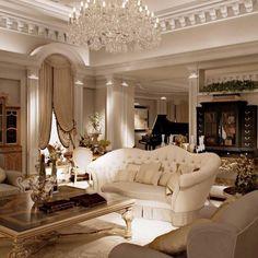 Best Living Room Design Ideas For Luxurious Home 12 — Home Design Ideas Home Living Room, Living Room Designs, Apartment Living, Luxury Living Rooms, Living Area, Glamour Living Room, Apartment Design, Small Living, Modern Living