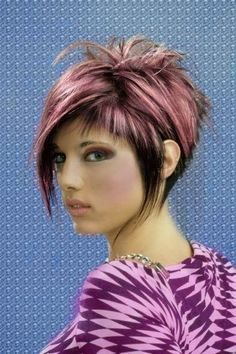 Messy Hairstyles for Short Hair 32 - New Hair Love Hair, Great Hair, Summer Hairstyles, Messy Hairstyles, Short Funky Hairstyles, Asymmetrical Hairstyles, Hairstyles 2016, Formal Hairstyles, Wedding Hairstyles