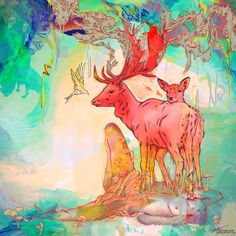 "Archan Nair - New Illustration titled "" Rebirth """