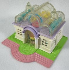 Bluebird 1994 Vintage Polly Pocket Light Up Bridal Salon With One Doll #Bluebird #Bluebird