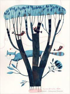 Als arbres de Simona Dimitri