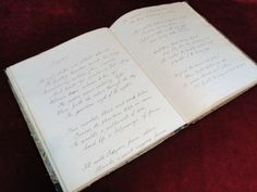 44) c.1820/30 - Delightful leather bound book of hand written poems Est. £20-£30