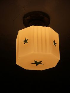 Deco globe light
