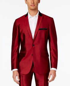 INC International Concepts Men's Shiny Blazer, Created for Macy's - Suits & Suit Separates - Men - Macy's