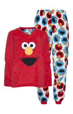 Elmo Sherpa PJ Set