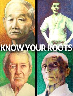 Jigoro Kano, Mitsuyo Maeda, Carlos Gracie, Helio Gracie- lineage of bjj