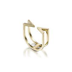 Equilibrium Ring | Diamonds gold | 14K | 24K | Designers of Fine Costom Jewelry | jewelery | woman | feminine | minimalism |YAMA | luxury | weeding ring | love | ring | earring | necklace | geometric |
